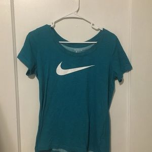 Nike Tee- Dri Fit- Teal